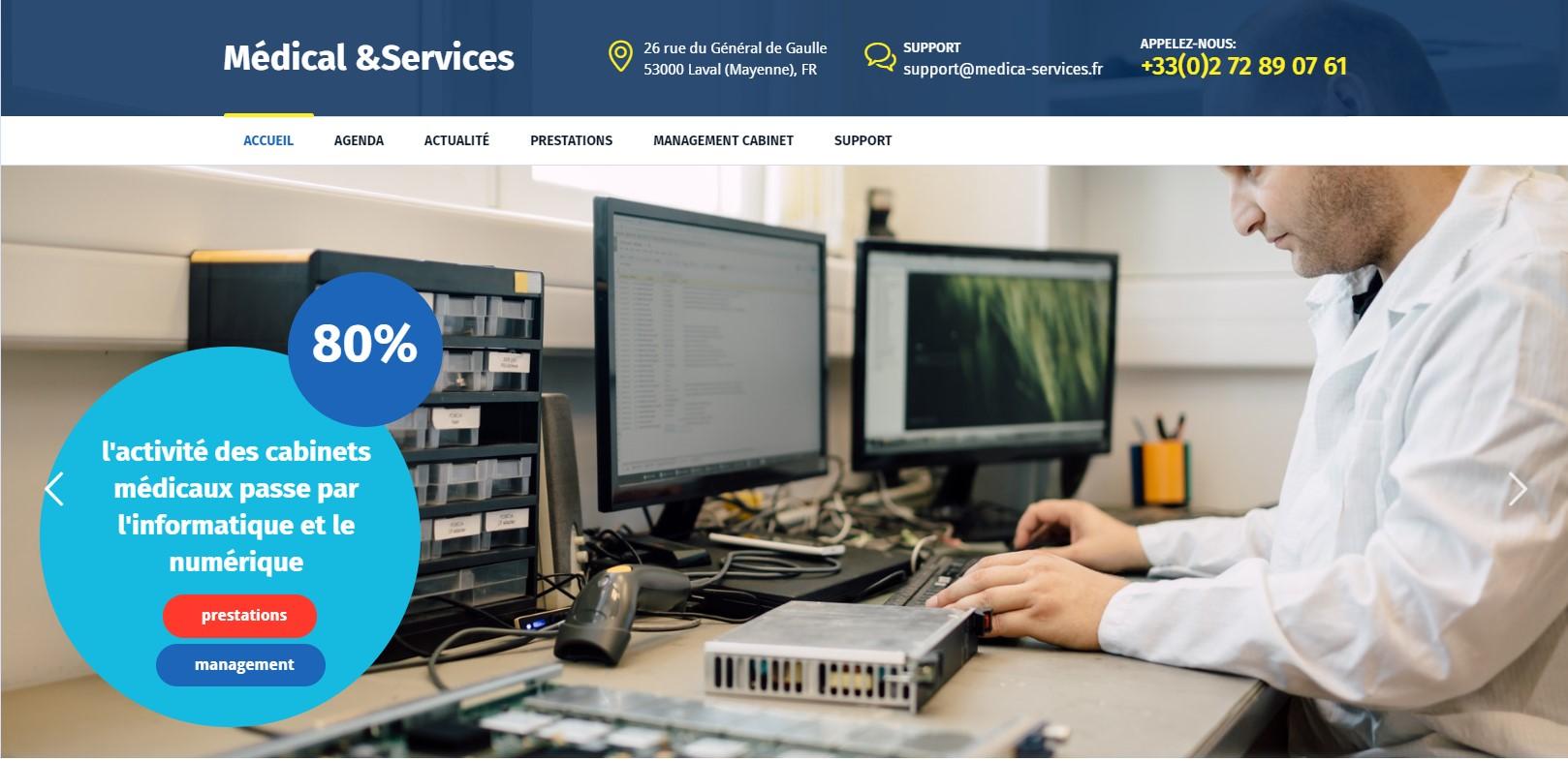 (2020) Sites Web pour les cabinets médicaux
