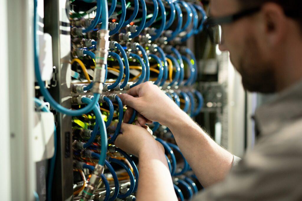 Repairing supercomputer